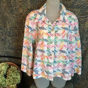 Alfred Dunner Ladies Jacket Size 16